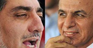 dos candidatos de afghanitan 2014